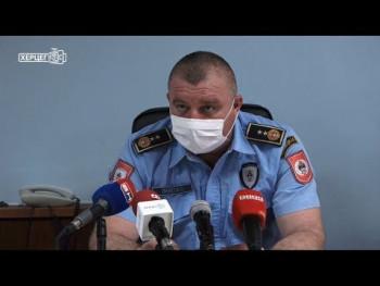 PU Trebinje: Hercegovci uglavnom postuju preventivne mjere zaštite (VIDEO)
