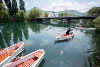 Tradicionalne barke od sutra na rijeci Trebišnjici
