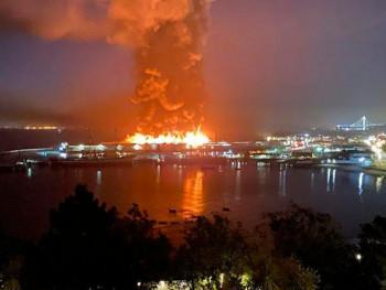 Пожар у историјском дијелу Сан Франциска
