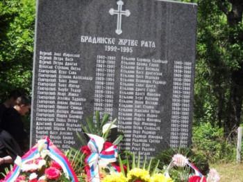 Obilježavanje 28 godina od zločina nad Srbima iz Bradine kod Konjica