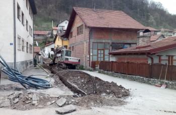 Foča: U junu asfaltiranje prekopanih ulica
