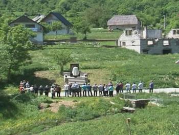 Pomen Srbima svirepo ubijenim u Ledićima kod Trnova