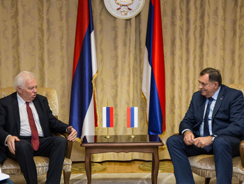 Sastanak Dodika i Ivancova u Banjaluci