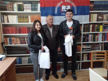 Narodna biblioteka Gacko ugostila đake generacije – Stefana i Andreu Kovačević