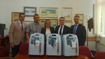 Vrijedna donacija 'Nove banke': Koncentratori kiseonika za bolnicu u Foči
