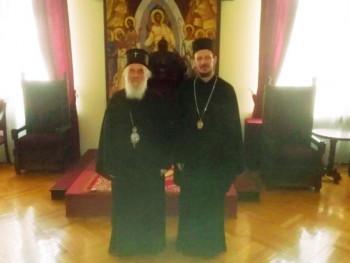 Patrijarh srpski razgovarao sa vladikom Dimitrijem