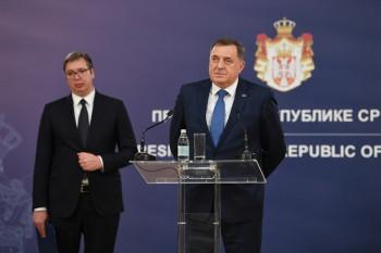 Додик: Српска уз помоћ Србије и Вучића данас изгледа боље и стабилније