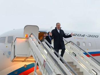 Лавров стигао у Београд
