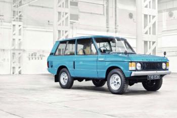Легендарни Range Rover слави 50. рођендан