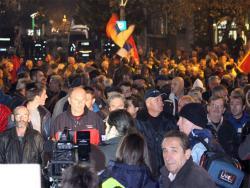 Podgorica: Protest Dekmokratskog fronta