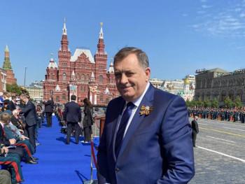 Dodika na Crvenom trgu dočekao Putin