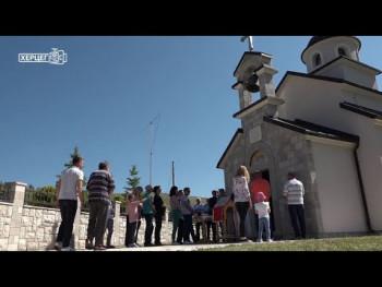 Služenjem parastosa odat pomen nevino stradalim stanovnicima sela Ljeskov Dub(VIDEO)