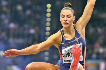 Ivana Španović polomila stopalo