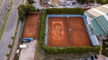 Највећи портрет на свијету Новака Ђоковића