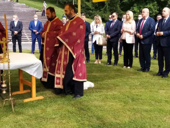 Obilježavanje 78 godina od Bitke na Kozari; Prisustvuju Cvijanović i Dodik