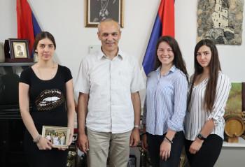 Gacko: Prijem za predstavnice opštine Gacko na muzičkom takmičenju 'Ritam Evrope'