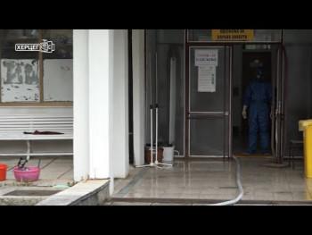 Kovid odjeljenje u Trebinju popunjeno, hospitalizovano 30 pacijenata (VIDEO)