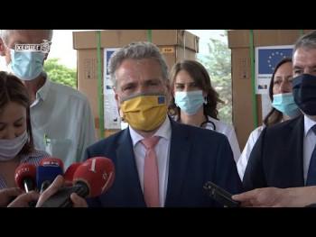 EU trebinjskoj Bolnici donirala opremu vrijednu 233.000 KM  (VIDEO)