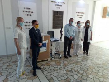 Foča: Univerzitetskoj bolnici oprema od EU vrijedna 116.000 KM
