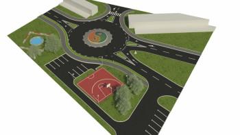Nevesinje: Naredne sedmice počinje izgradnja kružne raskrsnice ispred Sportske dvorane