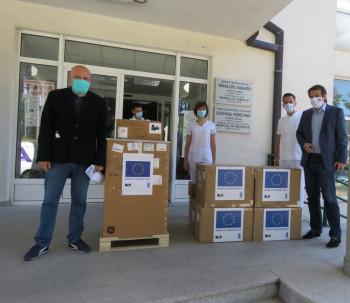 Evropska unija preko UNDP-a donirala opremu nevesinjskoj Bolnici (FOTO)
