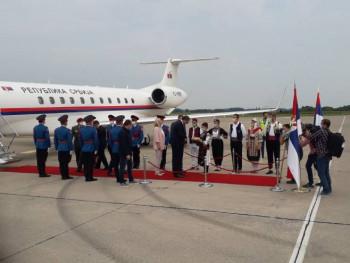 Dodik i Cvijanović dočekali Vučića
