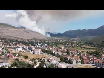 Пожар у Бањевцима (ВИДЕО)