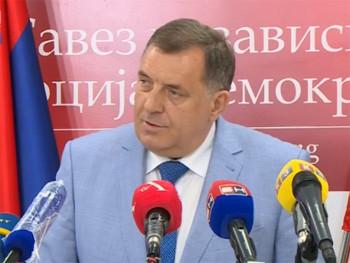 Dodik: Ako ne podržite mene, podržali ste Komšića i Džaferovića