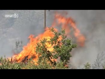 PU Trebinje: Otkriveno lice koje je izazvalo požar (VIDEO)