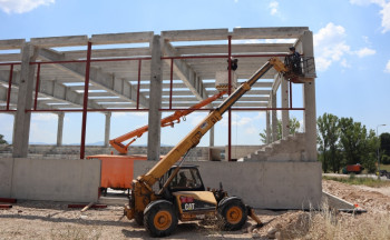 Izgradnja sportske dvorane u Gacku (FOTO)