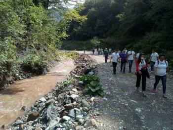 Foča: Obustavljeni radovi na vodotokovima, a policija informisana o bespravnoj sječi šume