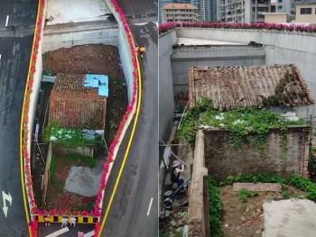 Napravili auto-put oko kuće, ali vlasnica i dalje odbija da je proda (VIDEO)