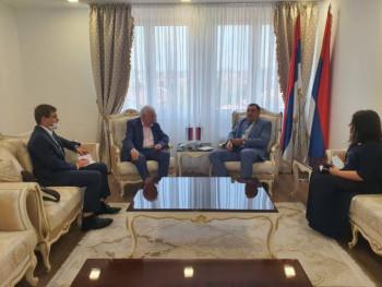 Dodik i Ivancov o aktuelnoj političkoj i epidemiološkoj situaciji