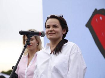 Tihanovska spremna da predvodi Bjeloruse