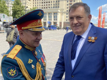 Dodik čestitao Šojguu 175 godina postojanja Ruskog geografskog društva