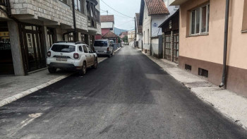 Foča: Završeno asfaltiranje Krajiške, Kočićeve i Drinske ulice