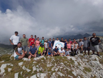 Nevesinjski planinari na najvišem vrhu Volujaka