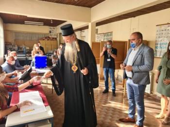 Vladika Joanikije glasao u Beranselu: Nadam se da će već od sjutra biti bolje za sve građane Crne Gore