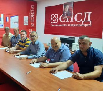 Potpisan koalicioni sporazum u Ljubinju - pet stranaka podržalo kandidaturu Rista Milutinovića