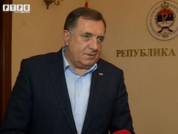 Dodik: Pojedinci u Sarajevu se ponašaju kao gubitnici izbora u Crnoj Gori