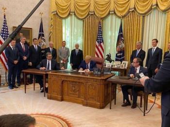 IZ MINUTA U MINUT: Potpisan sporazum sa SAD o normalizaciji ekonomskih odnosa