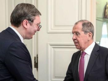 Lavrov: Rusija će uvijek podržavati prijateljsku Srbiju