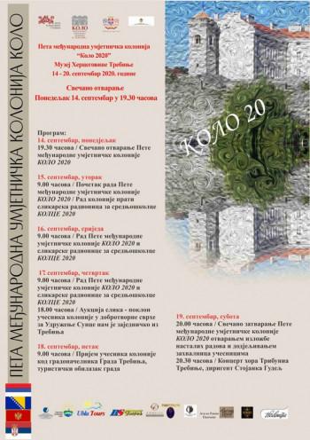 """Muzej Hercegovine: Danas otvaranje 5. međunarodne likovne kolonije """"Kolo"""""""