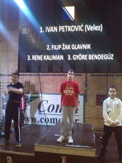 Ivan Petković osvojio zlatnu medalju na Evropskom kupu