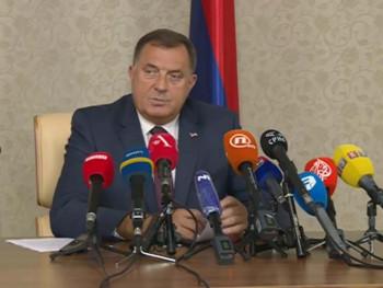 Dodik: Nema priznanja tzv. Kosova, Parlament Srpske će to potvrditi