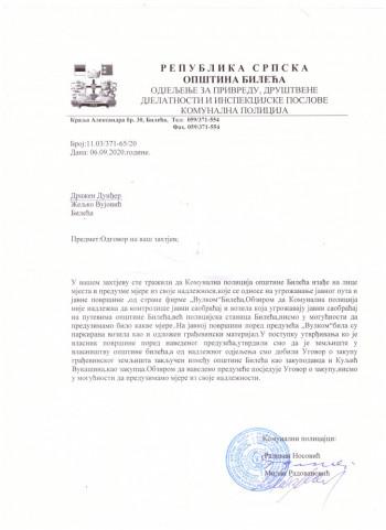 Demanti Dražena Dunđera na tekst 'Zašto je propala licitacija zemljišta u Bileći?!