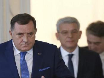 Članovi Predsjedništva BiH u Briselu