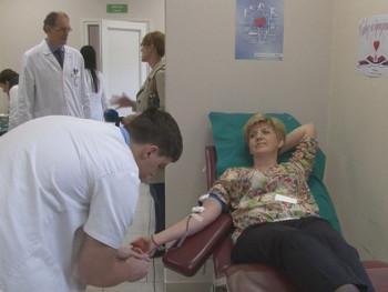 Višegrad: Akcija dobrovoljnog davanja krvi