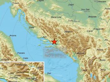 Zemljotres pogodio područje Mostara