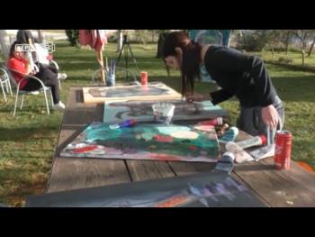 Izložba radova sa Likovnog saborovanja 'Simeon Dobrićevski' (VIDEO)